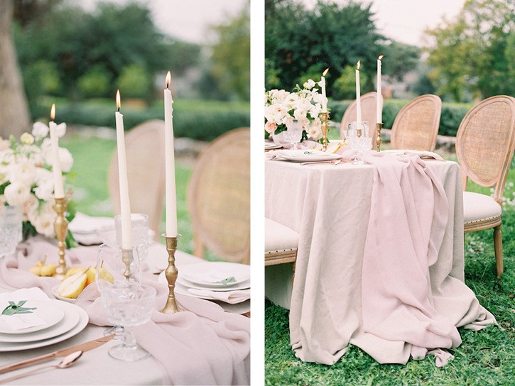 Raw and Organic Garden Wedding Ideas