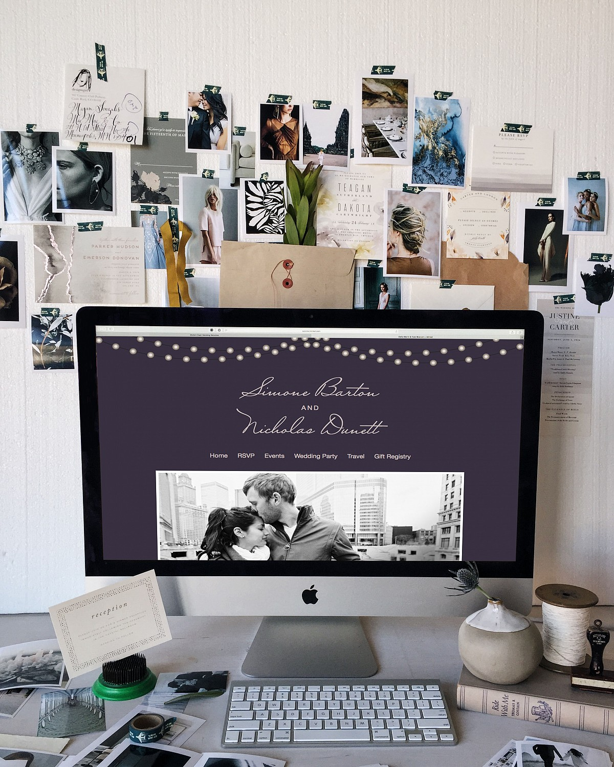Creating your Wedding Website with Minted