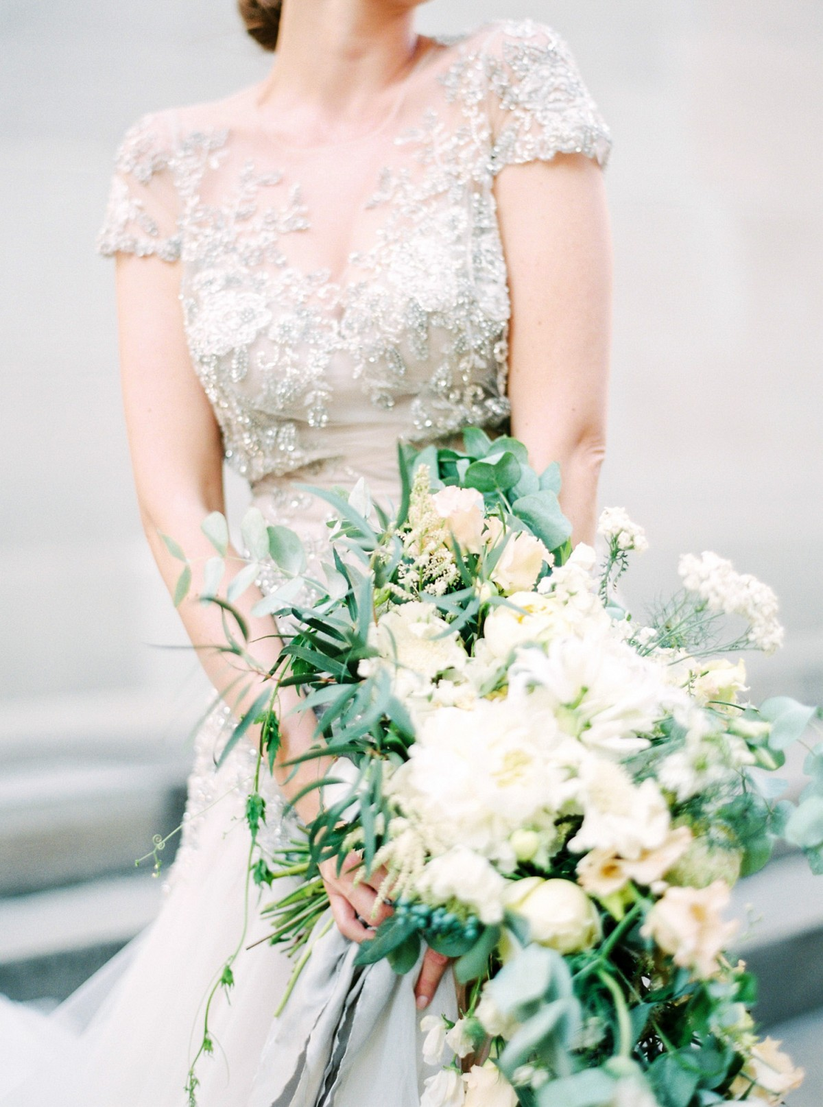 Glamorous Zurich Wedding in an Inbal Dror Gown