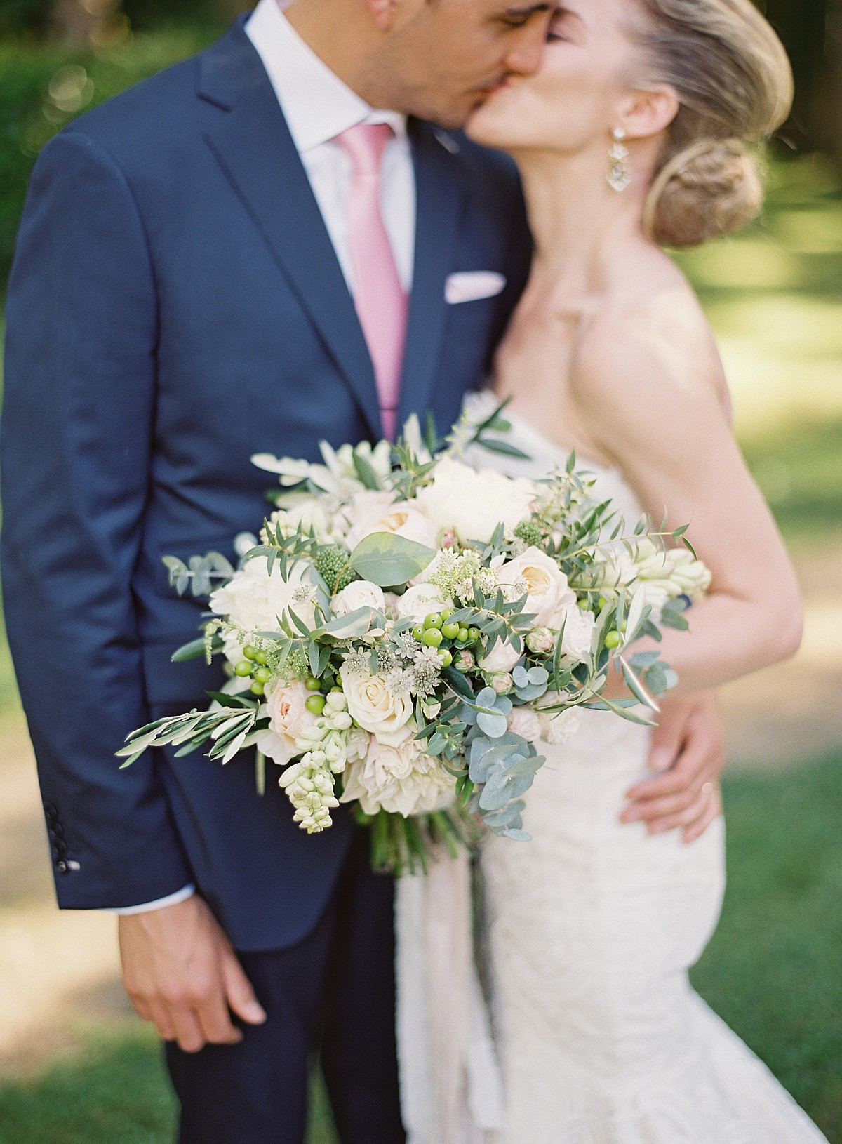 Tana and Benoit's Elegant Outdoor French Chateau Wedding
