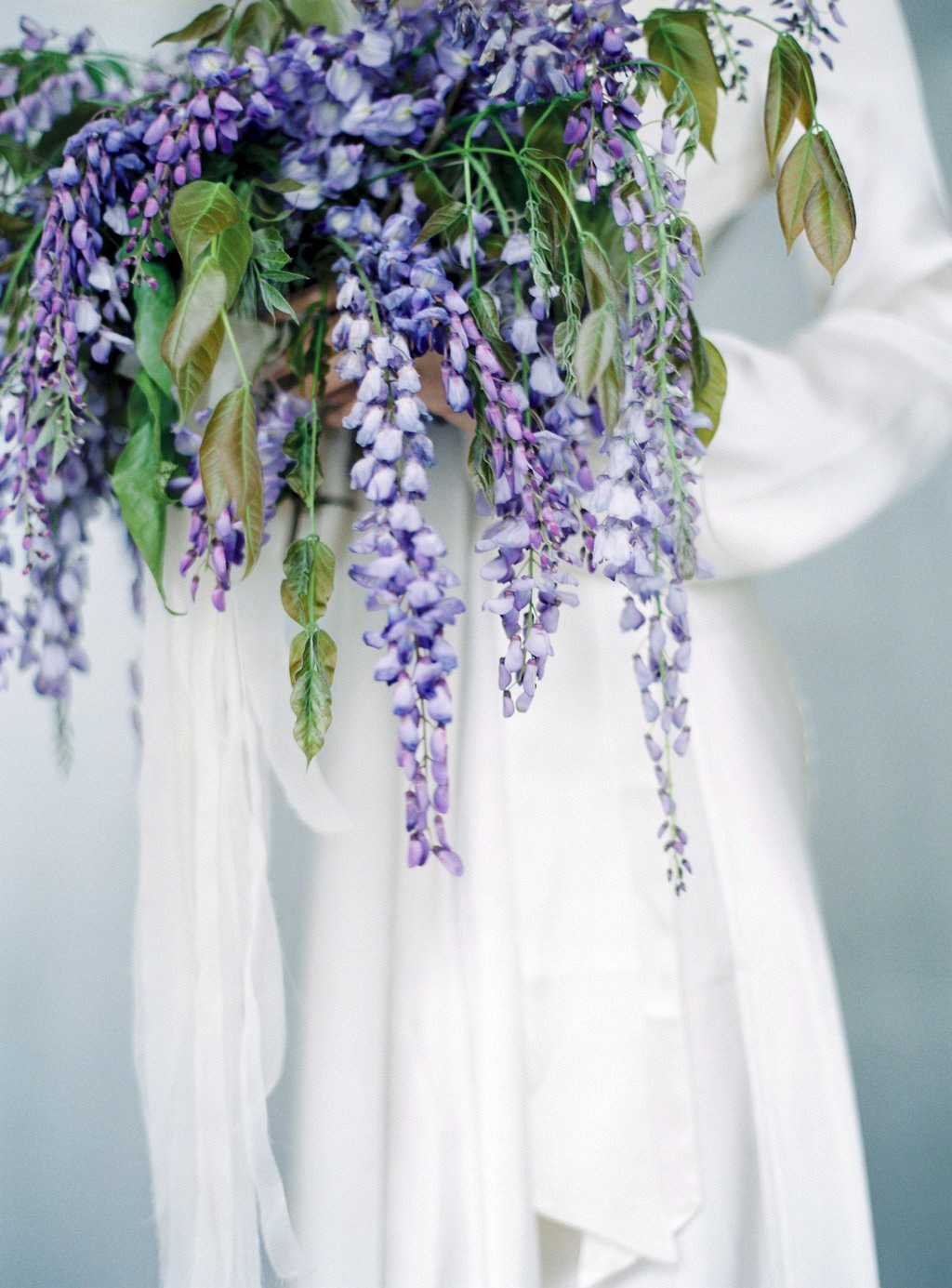 Elegant Wisteria Inspired Spring Bridals by Pia Clodi | Wedding Sparrow fine art wedding blog