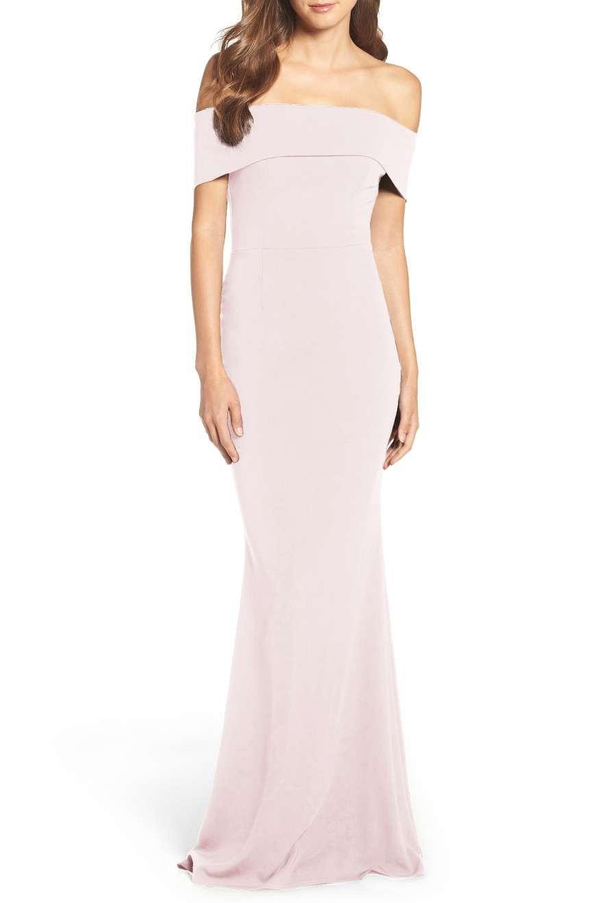 Body con bridesmaid dress