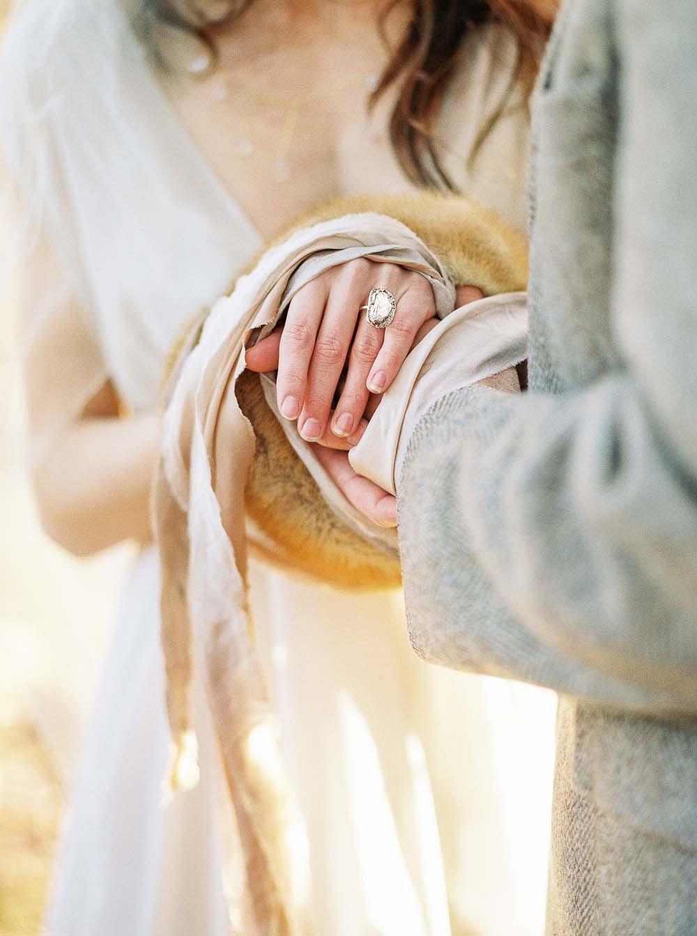 Autumnal Nordic Handfasting Ceremony