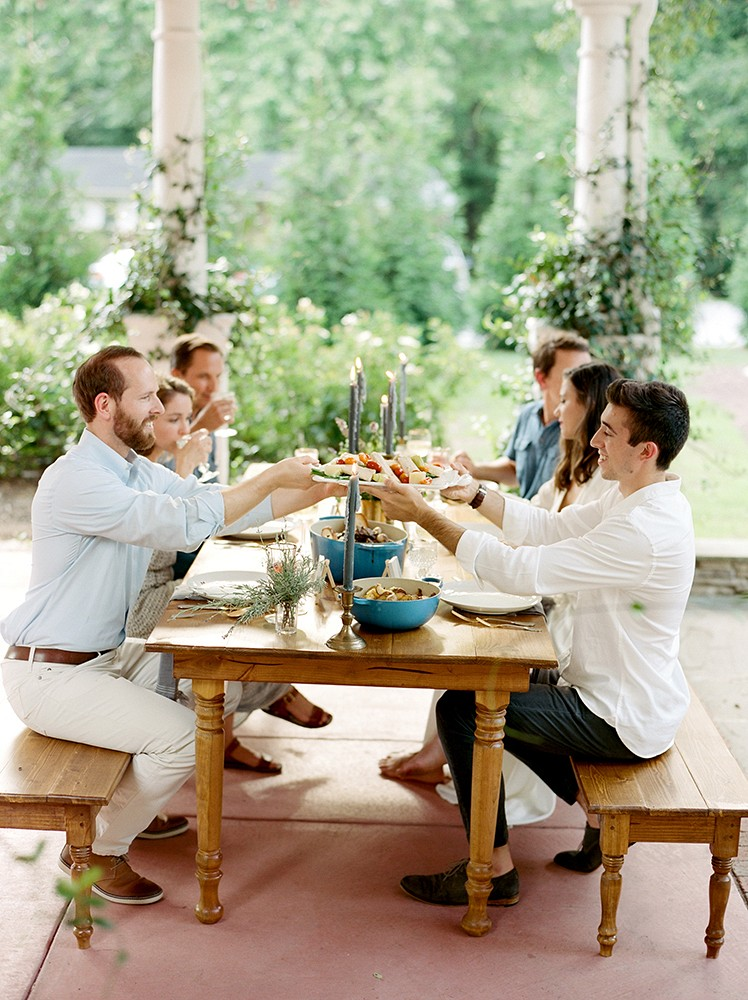 Hosting your First Dinner Party as Newlyweds