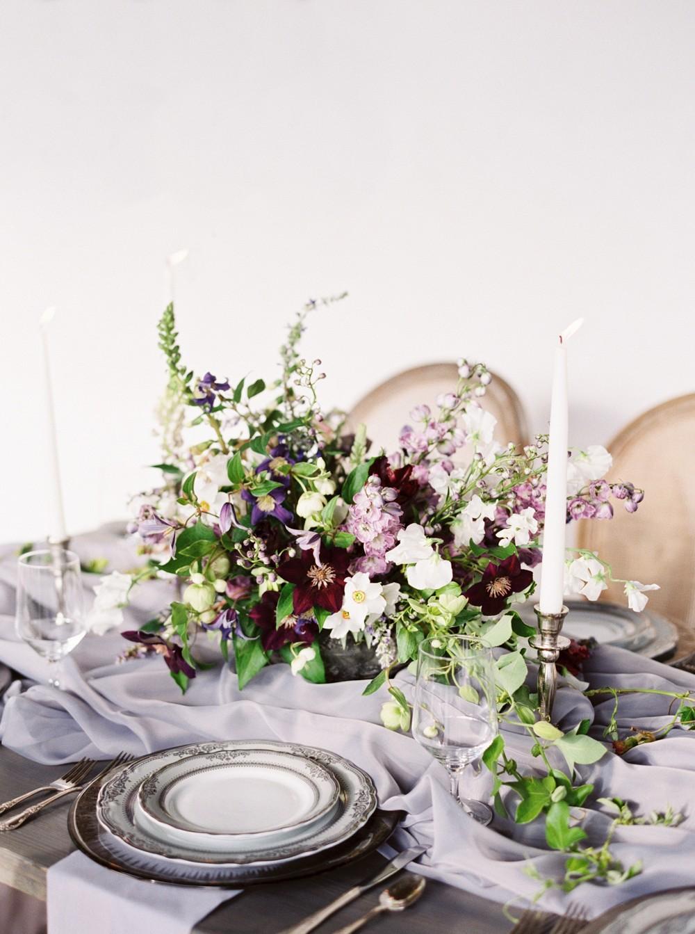 Elegant Italian Inspired Tablescape