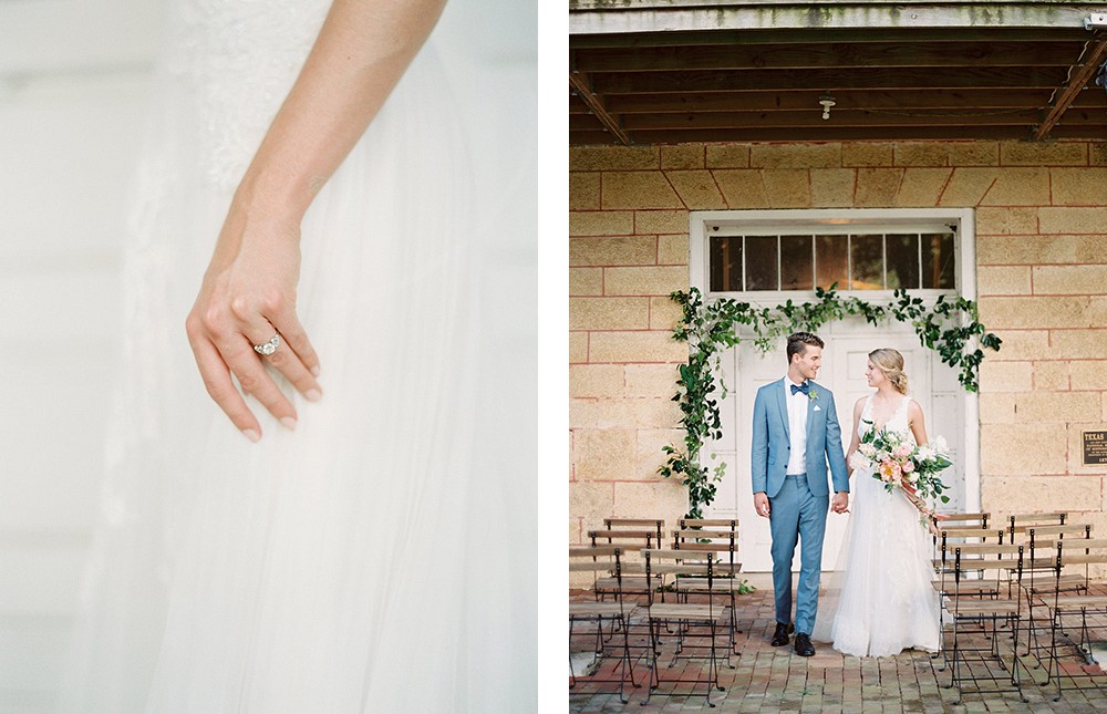 Romantic Blush and Blue Wedding Inspiration by Charla Storey Photography | Wedding Sparrow