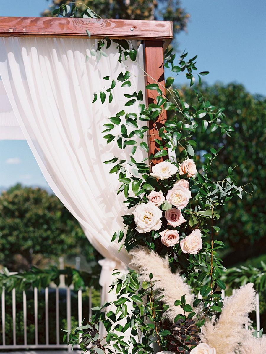 Intimate Backyard Real Wedding