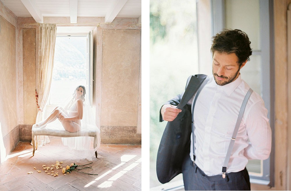 Queralt and Giulio's Lake Como Elopement by Celine Chhuon Photography | Wedding Sparrow