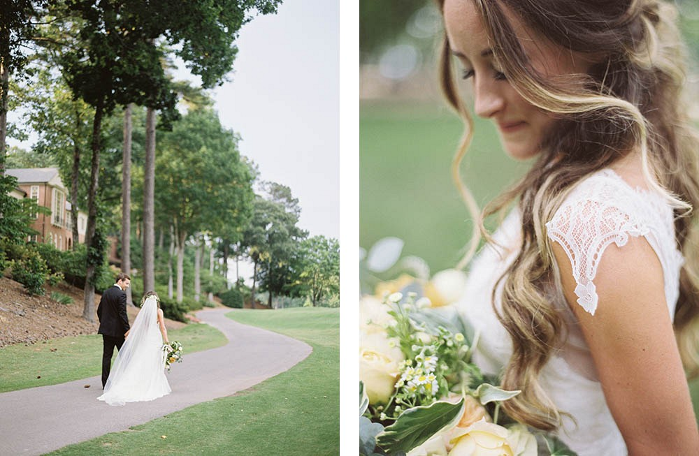 Country Club transformed into Boho Wedding by Meghan Murphy of A Still Breath Photography | Wedding Sparrow