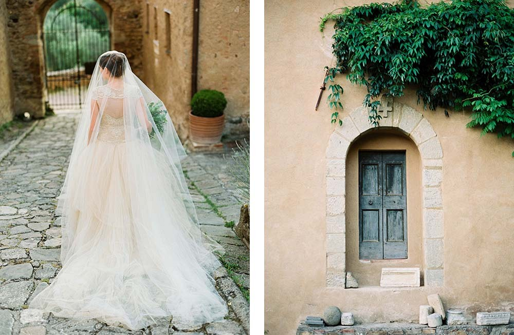 Tuscan Bridal Session during Sunrise by Donny Zavala Photography | Wedding Sparrow