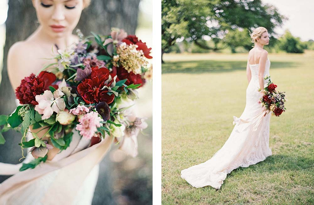 Farmhouse Style Wedding Inspiration by Natalie Shelton Photography | Wedding Sparrow