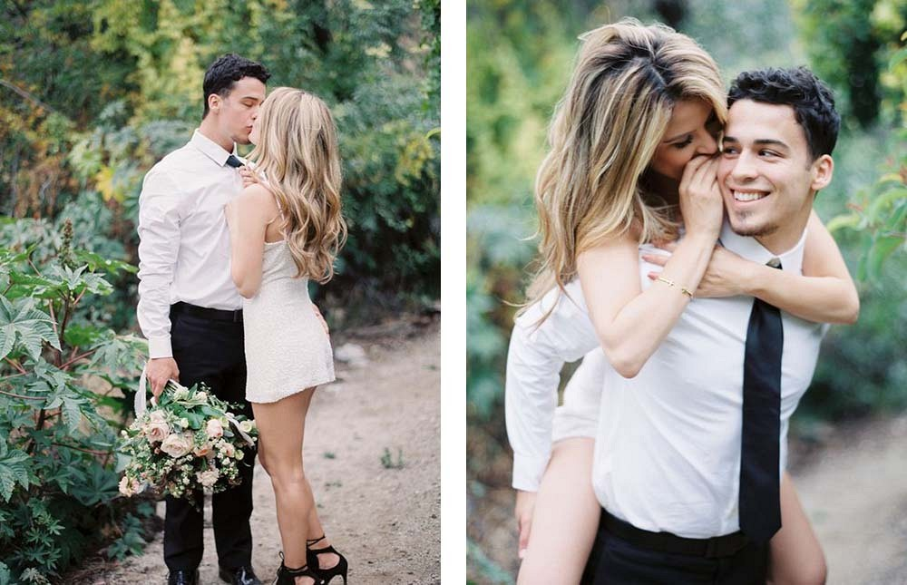 High School Sweetheart Engagement by Lucy Munoz Photography | Wedding Sparrow