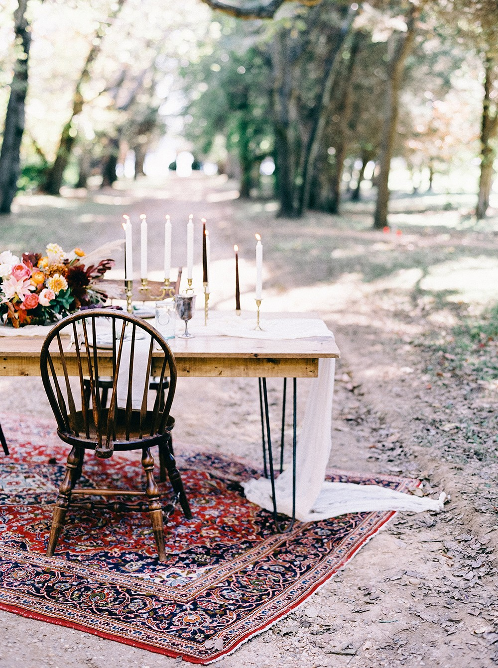 Intimate Folk Autumnal Wedding Inspiration