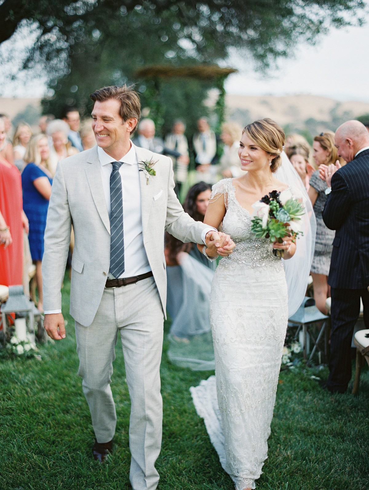 Sophisticated Outdoor Wedding at Firestone Vineyard