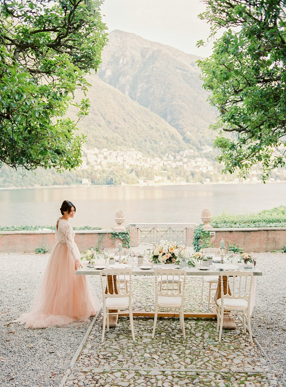 Queralt and Giulio's Lake Como Elopement