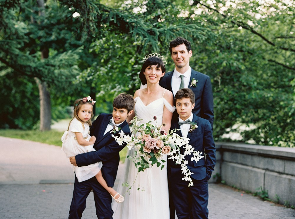 Ariel & Andrew's Fine Art Brooklyn Wedding by Lauren Balingit | Wedding Sparrow | wedding blog