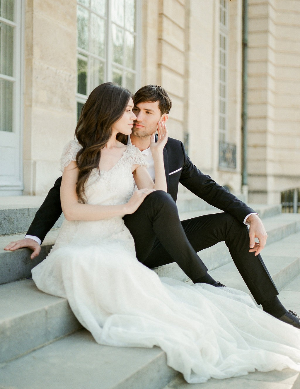 Sophisticated Parisian Wedding at the Rodin Museum