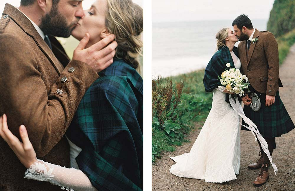 Katie and Mark's Intimate Scotland Wedding by Laura Gordon Photography | Wedding Sparrow
