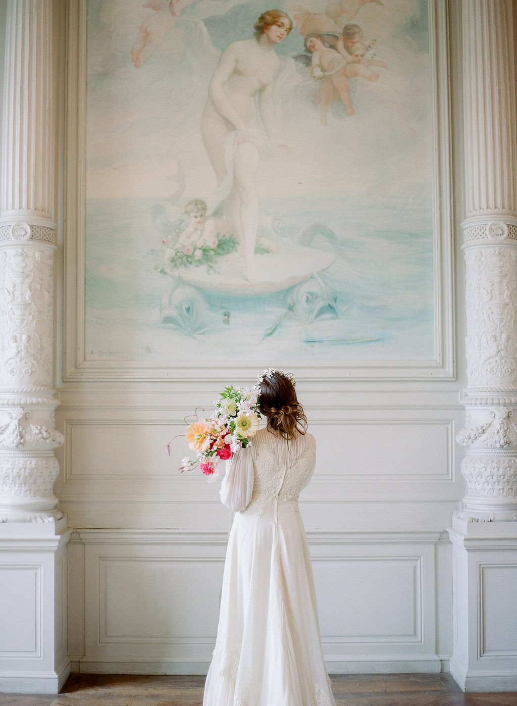 Elegant Wedding at Chateau de Boursault in France