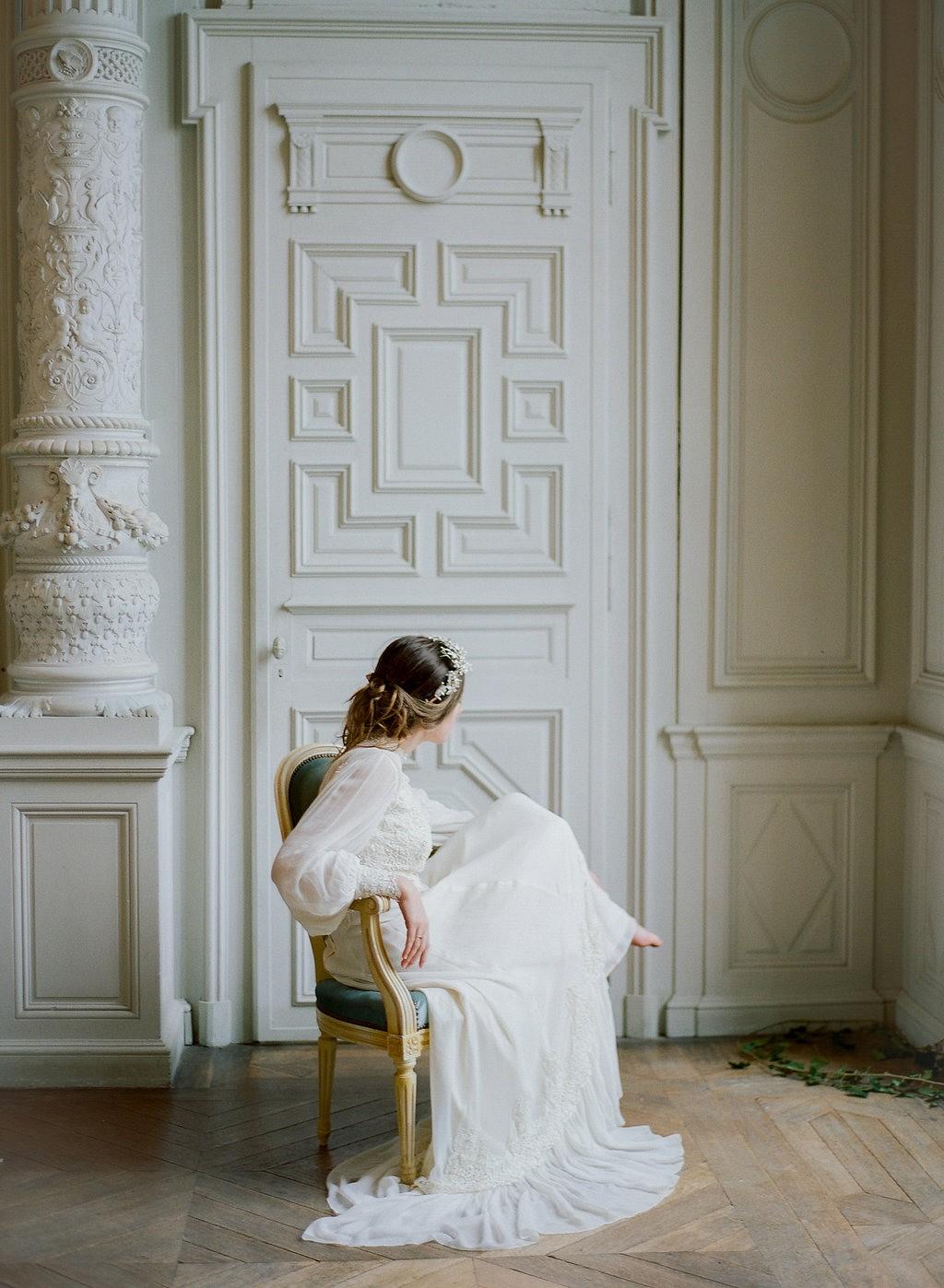 Elegant Wedding at Chateau de Boursault in France