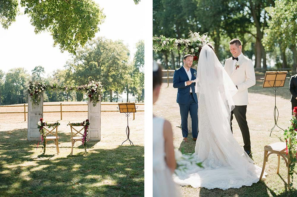 Jessica and Vanya's Elegant Outdoor Destination Wedding by Marie Film Photography | Wedding Sparrow