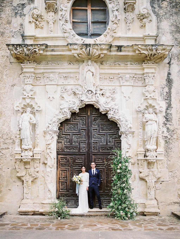 San Antonio Mission Wedding Inspiration
