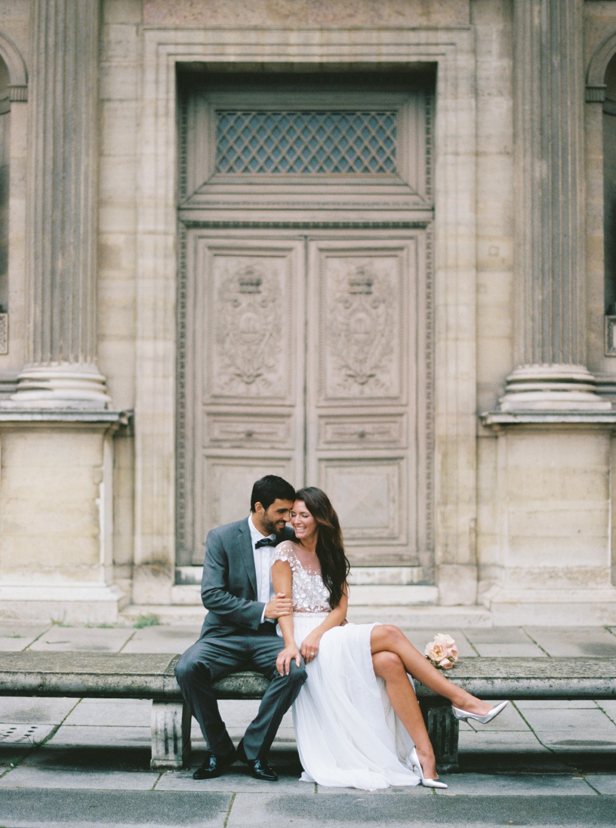 Chloe and Jean's Paris Elopement