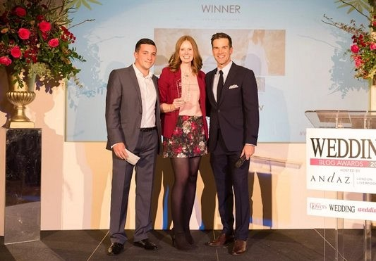 Wedding blog awards 2016 - Winner Best Wedding Blog