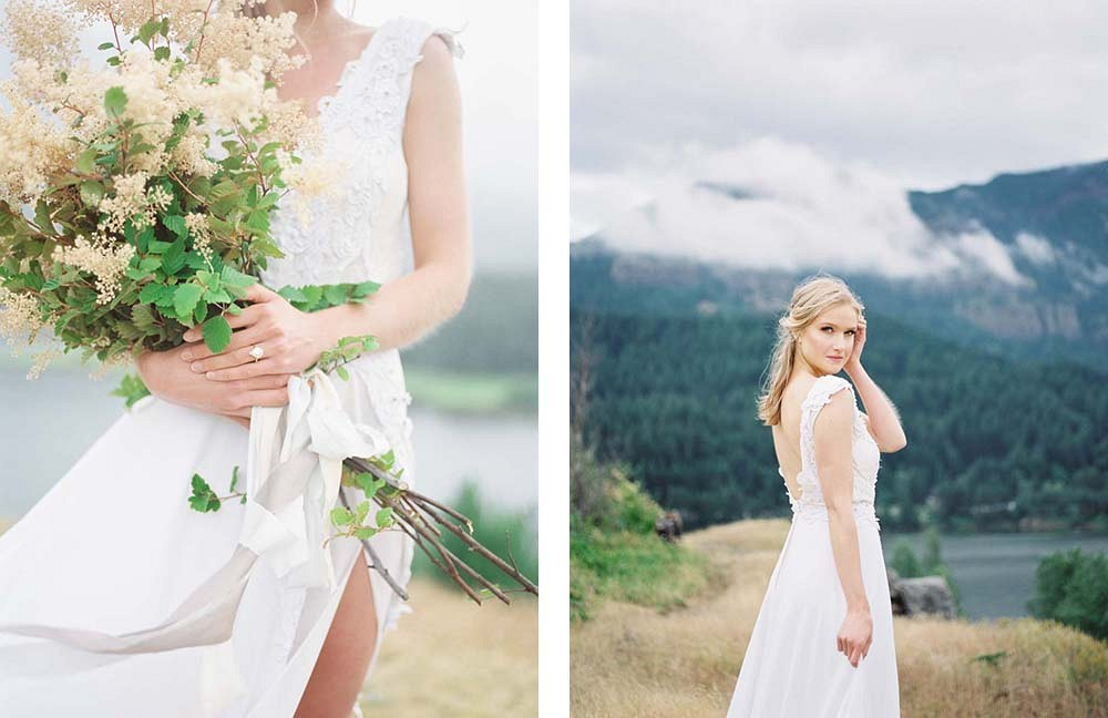 Pacific Northwest Bridals by Savan Photography | Wedding Sparrow