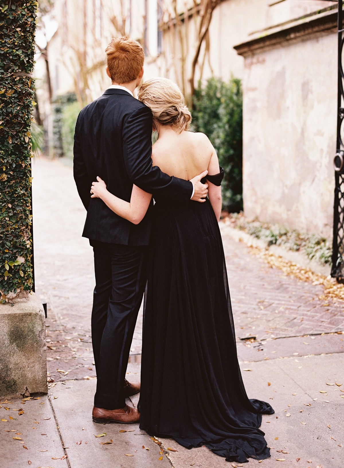 Formal Engagement Photos in Charleston by Ashley Cox | Wedding Sparrow | wedding blog