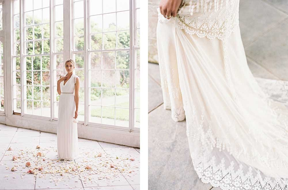 Wedding Gowns for the Fine Art Bride by Taylor and Porter Photography | Wedding Sparrow