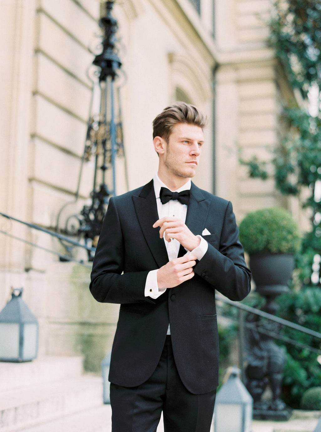 Tais and Brian's Glamorous Paris Elopement