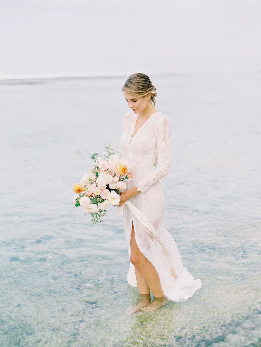 Bali wedding ideas with pops of citrus