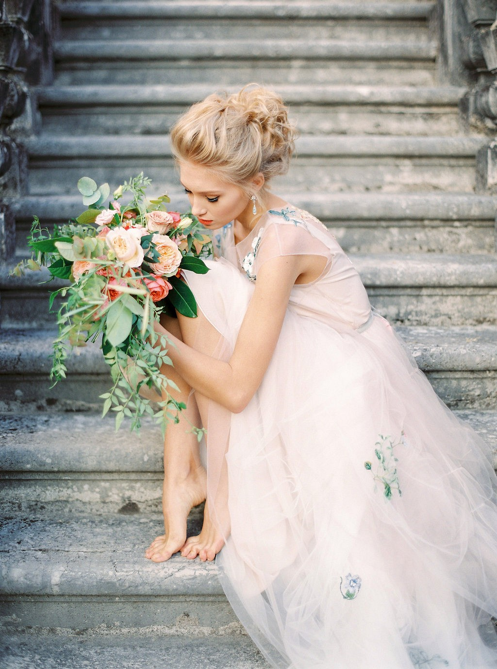 Romantic and Organic Art Nouveau Inspired Wedding
