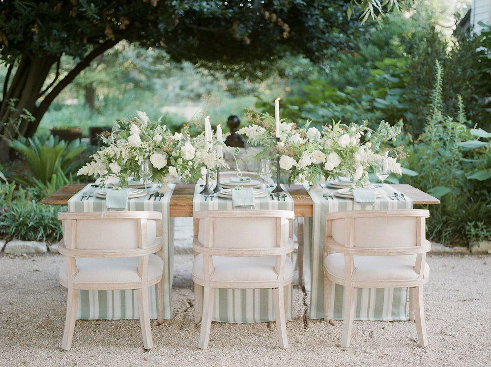Simple, Understated Garden Wedding Ideas by Christine Gosch ...