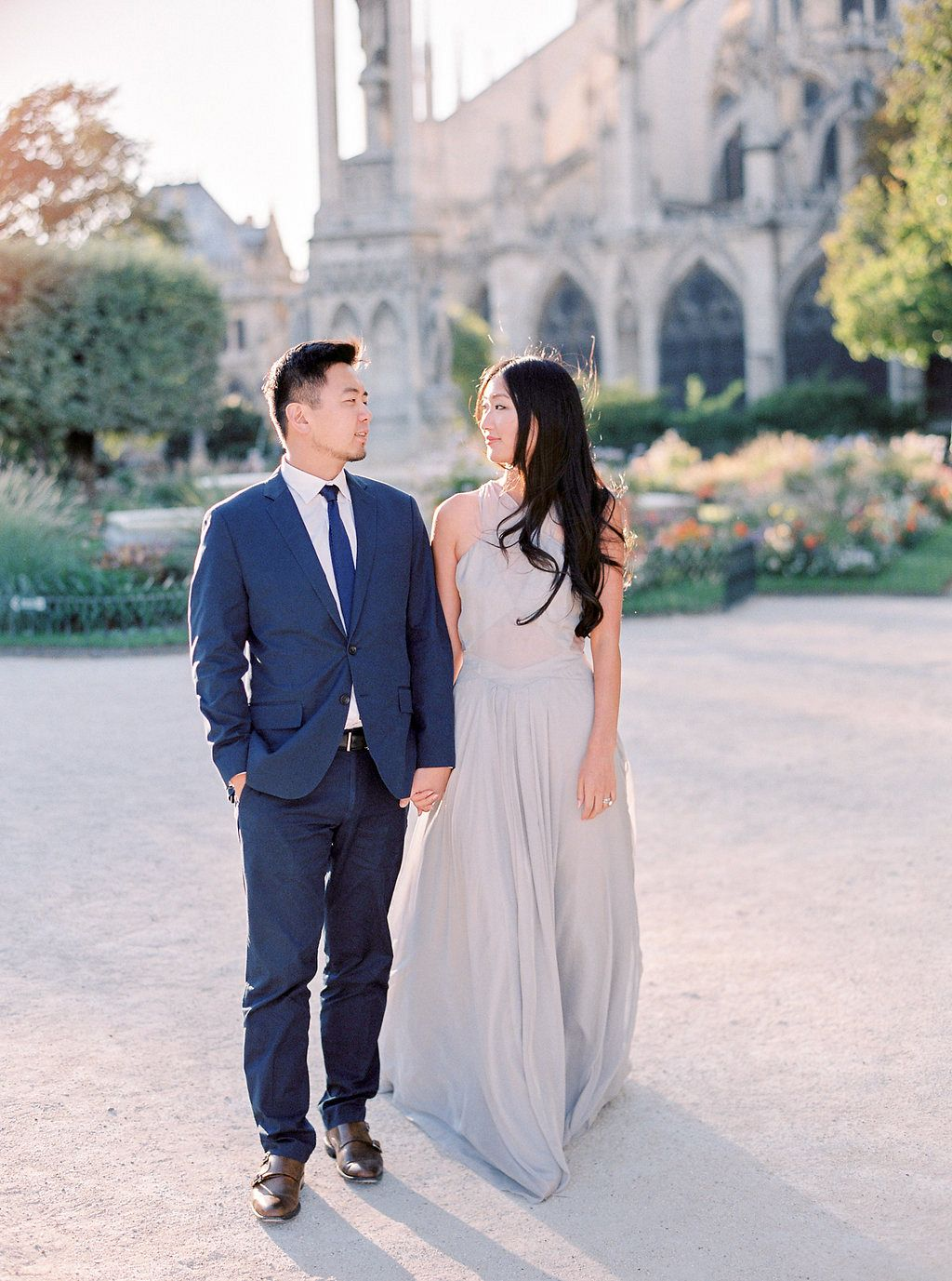 Perfect Engagement Outfit Inspiration In Paris By Le Secret D Audrey