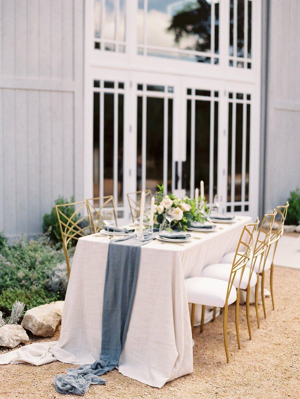 Romantic Slate Grey and Gold Wedding Inspiration by Sydney ...