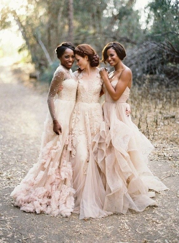 Best Bridesmaid Dresses for the Fine Art Bride