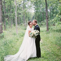 Sophisticated Real Wedding in Ontario