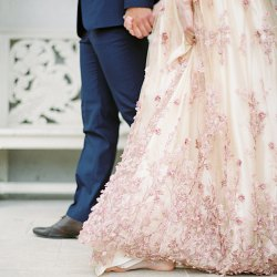 Blush English Springtime Wedding Inspiration
