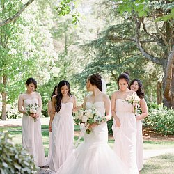 Shalom and Josh's Blush Pink Garden Wedding