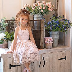 10 Classic Flower Girl and Bridesmaids Dress From Paisley of London