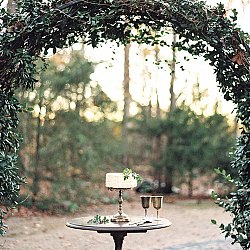 Autumnal organic wedding inspiration