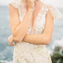 Blush and Gold Bridal Inspiration in Maui