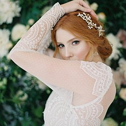 Lush Spring Garden Bridals in fine art accessories