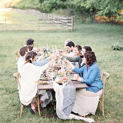 A Beautiful and Relaxed Rehearsal Dinner