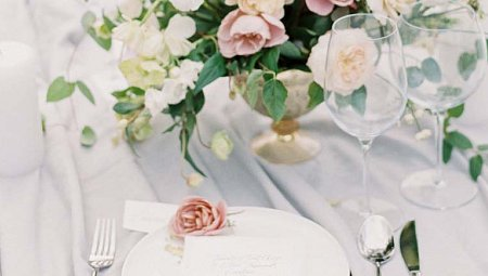 Subtle Elegant Wedding Inspiration in Dusty Rose Tones