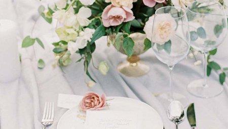 Subtle Elegant Wedding Inspiration in Dusty Rose Tones