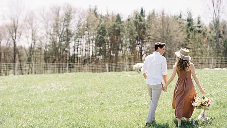 Farm Style Engagement Session