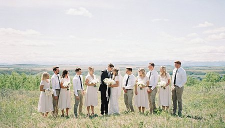 ​Intimate Neutral Wedding of Jordan & Carson